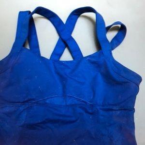 lululemon athletica Tops - Tank plus sports bra in one size 10 🍋🍋🍋lululemo
